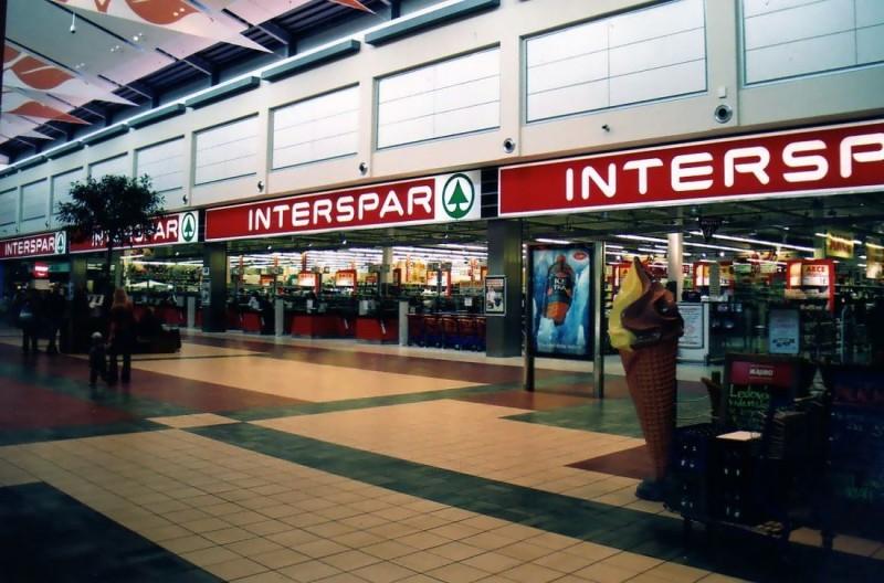 Торговая сеть Interspar в Вене