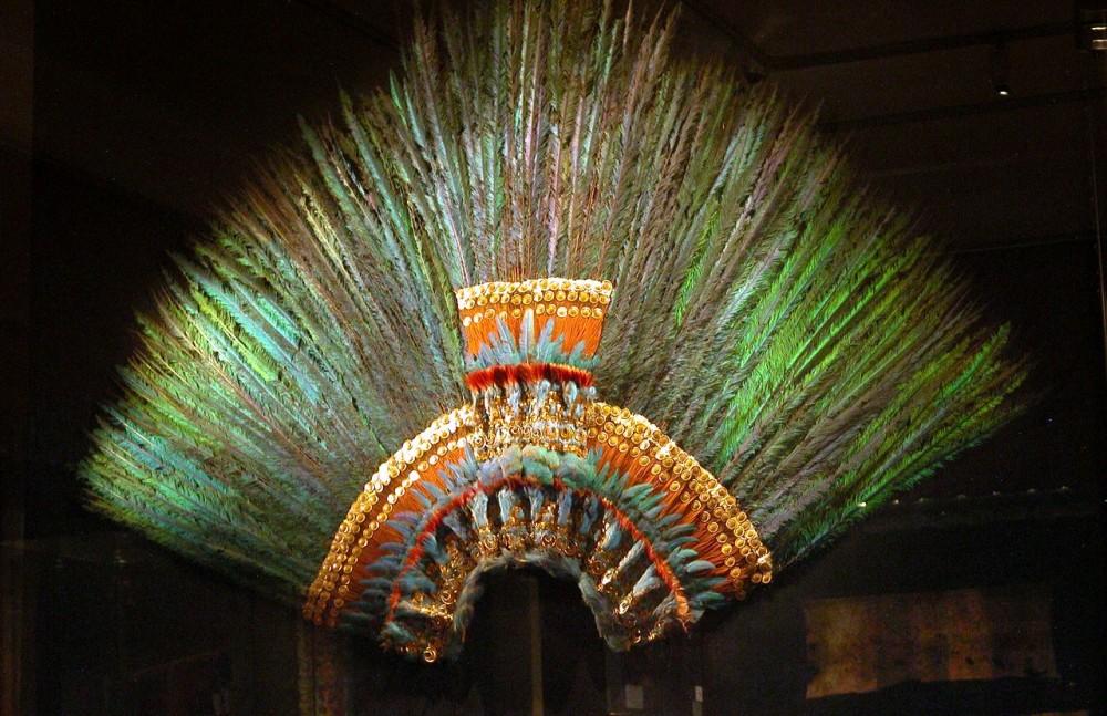 Корона Монтесумы II, последнего императора ацтеков