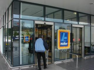 Торговая сеть Hofer в Вене