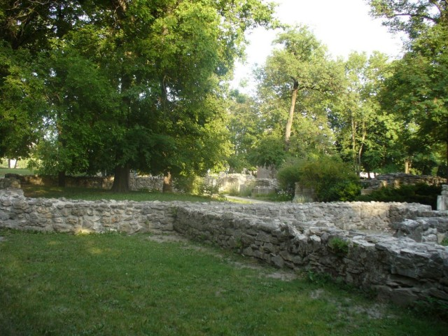 Средневековые руины женского доминиканского монастыря на острове Маргариты