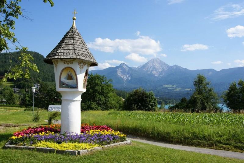 Пейзажи Факер Зее (Faaker See) Австрия