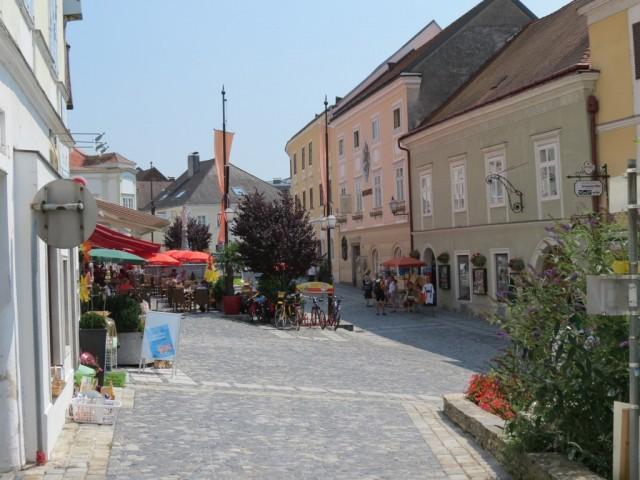 Мельк, сувенирная улочка