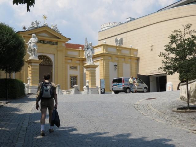Бенедектинский монастырь, главная достопримечательность Мелька