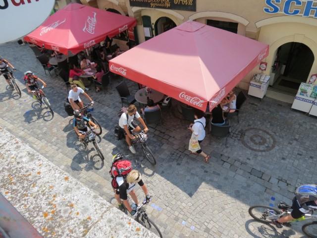 И, конечно же, велосипедисты....