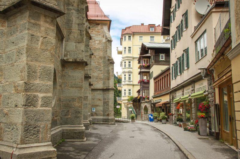 Старинная улочка курорта