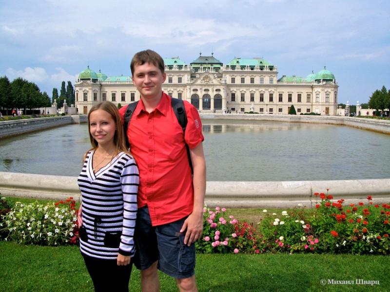 Дворцово-парковый комплекс Бельведер (Schloss Belvedere)