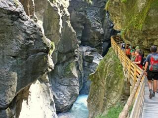 Лихтенштейнское ущелье — место, где рождается радуга