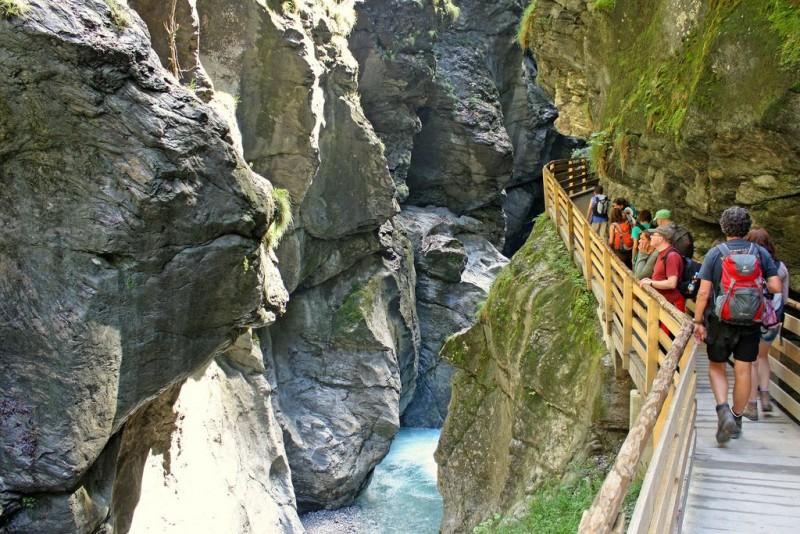 Лихтенштейнское ущелье (Liechtensteinklamm)