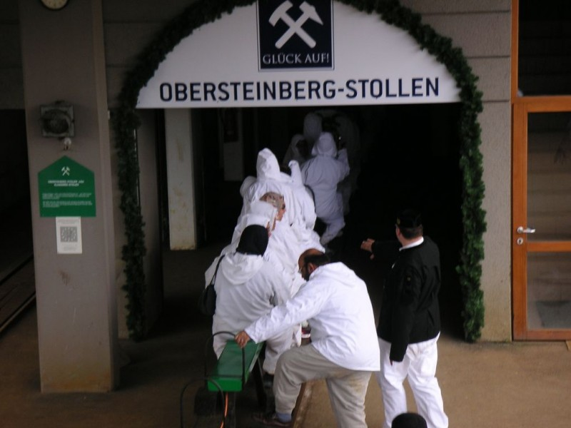 Соляная шахта Халляйн (Salzbergwerk Hallein)