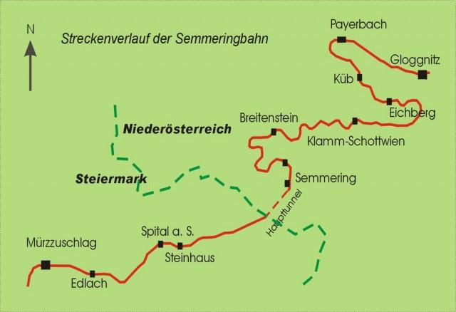 Земмерингская железная дорога (Semmeringbahn)