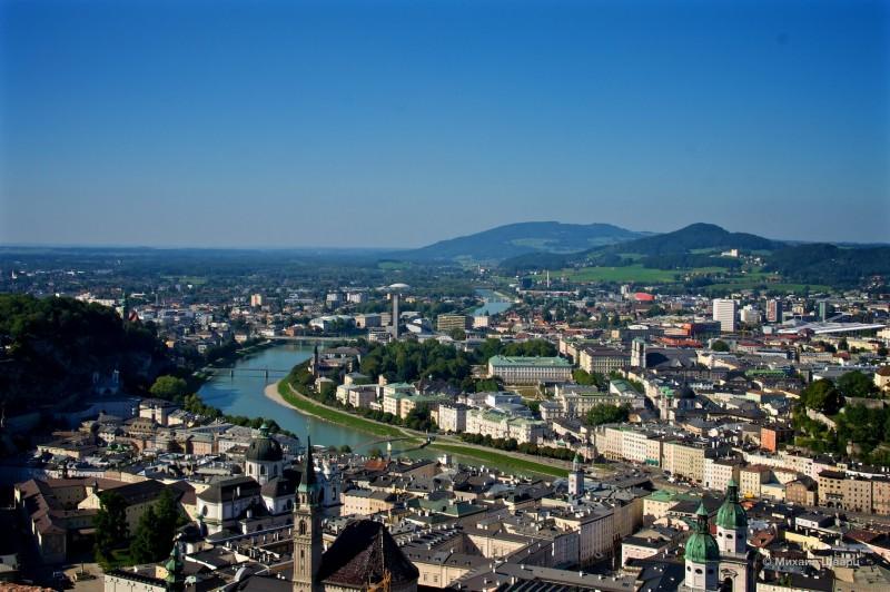 Панорама Зальцбурга