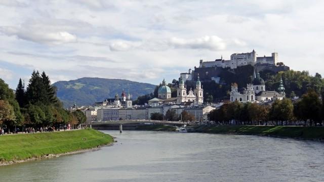 Зальцбург. Вид с моста