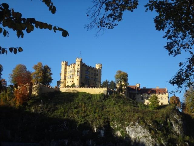 А это замок Хоэншвангау (Hohenschwangau)