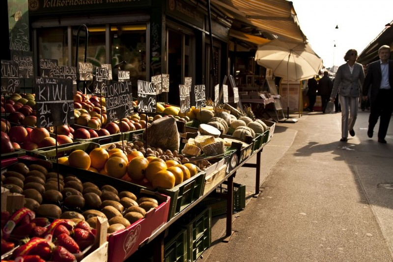 Рынок «Нашмаркт» (Naschmarkt)