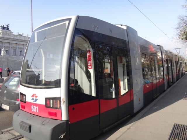 Венский трамвай.
