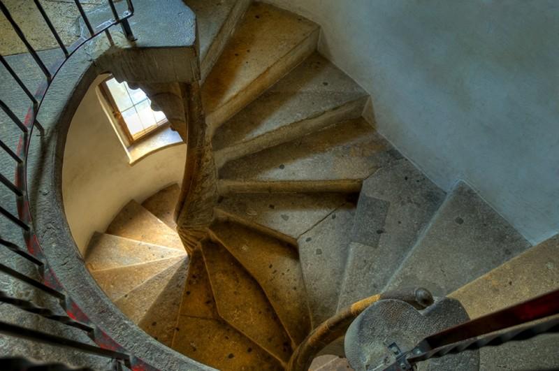 Двойная винтовая лестница Versöhnungsstiege