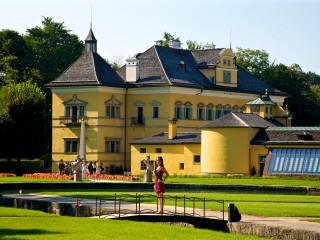 Замок Хелльбрунн и Потешные фонтаны