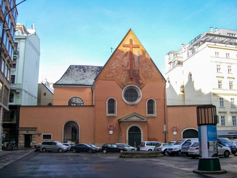 Церковь Капуцинов и императорская усыпальница (Kapuzinerkirche mit Kaisergruft)