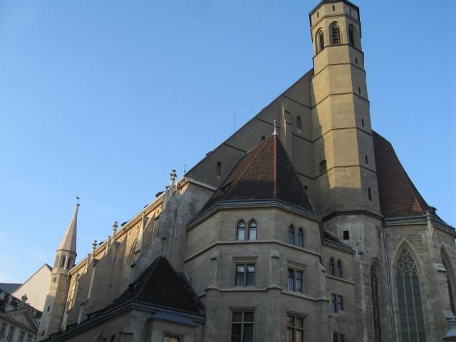 Церковь Миноритов (Minoritenkirche).