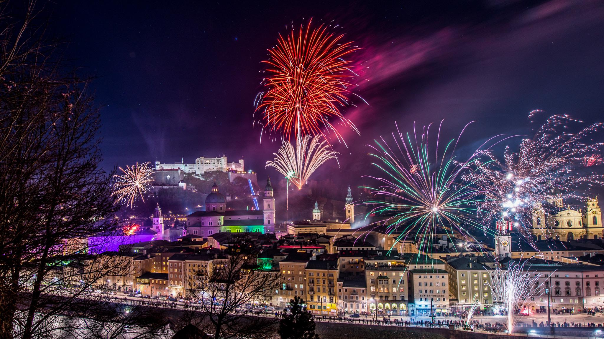 Магия Нового года. Новый год в Вене.
