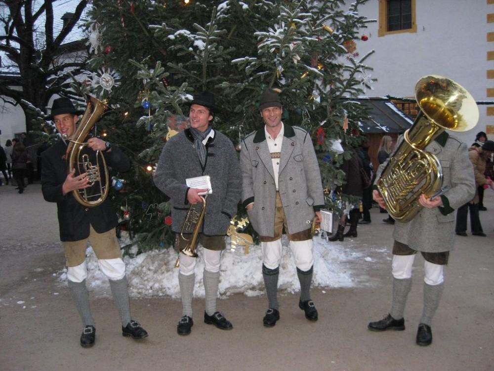 Оркестр на Рождественской ярмарке
