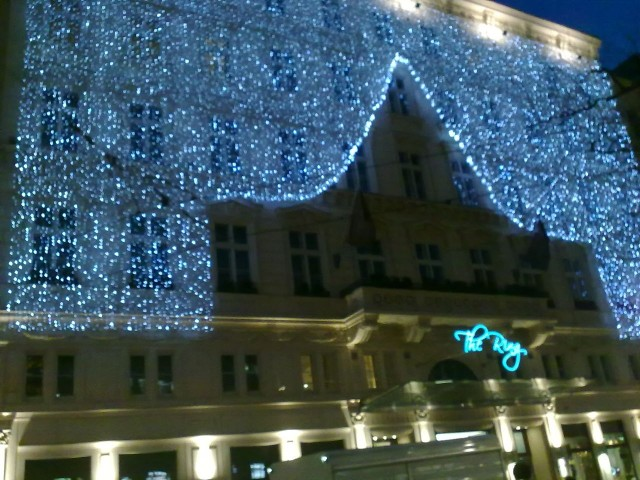 На улицах Вены.
