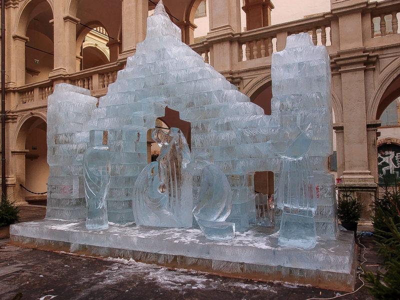 Знаменитый ледяной вертеп