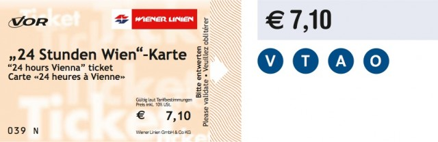 24h Stundenticket (24hour Ticket)