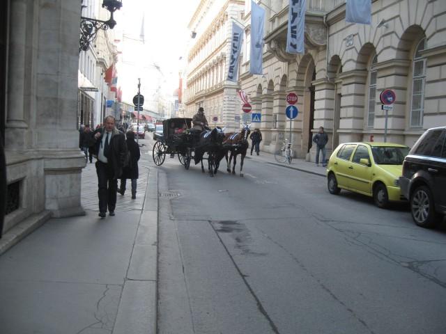 Улицы Вены.