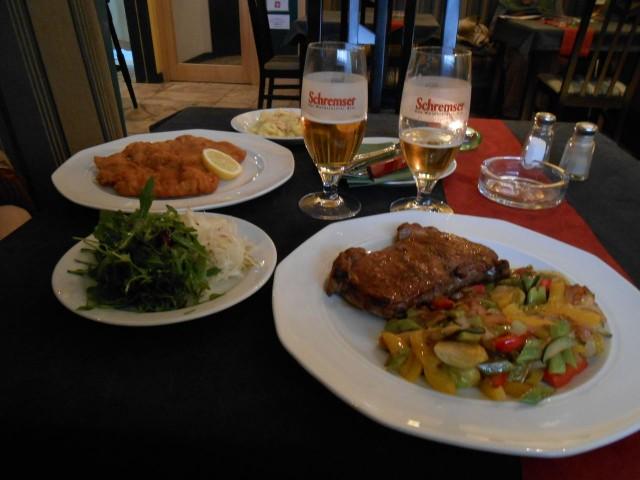 Обед в австрийском ресторане