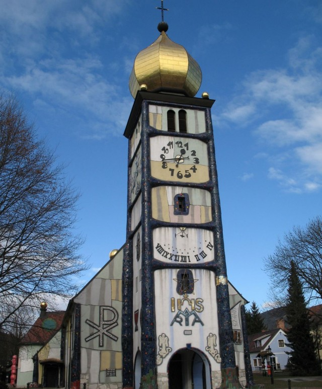 Церковь Святой Барбары в  Бернбахе