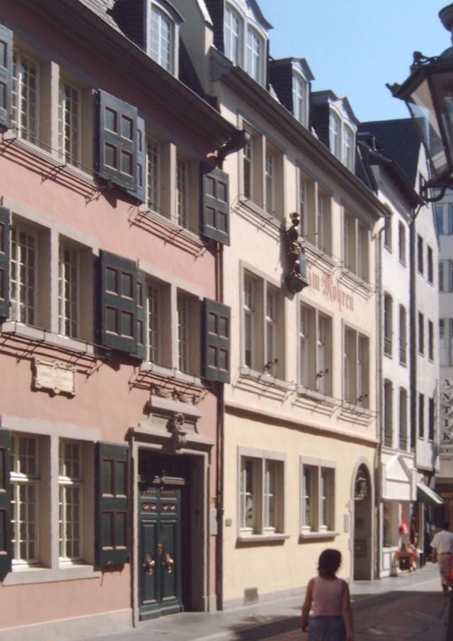 Дом в Бонне, где родился Людвиг ван Бетховен
