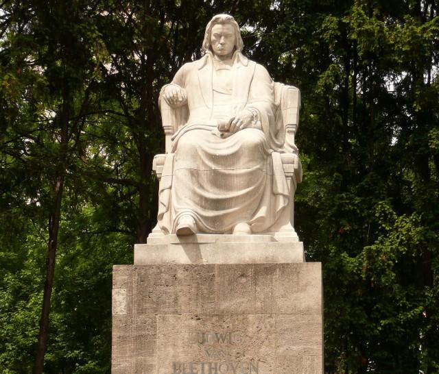 Памятник Бетховину в Нюрнберге