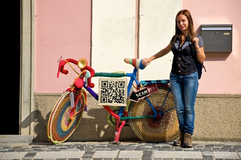 Велосипед, с которым все фотографируются