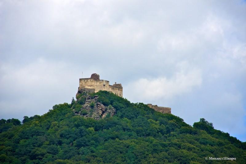 Руины замока Аггстейн (Schloss Aggstein)
