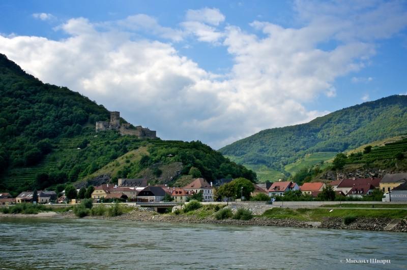 Руины крепости Hinterhaus