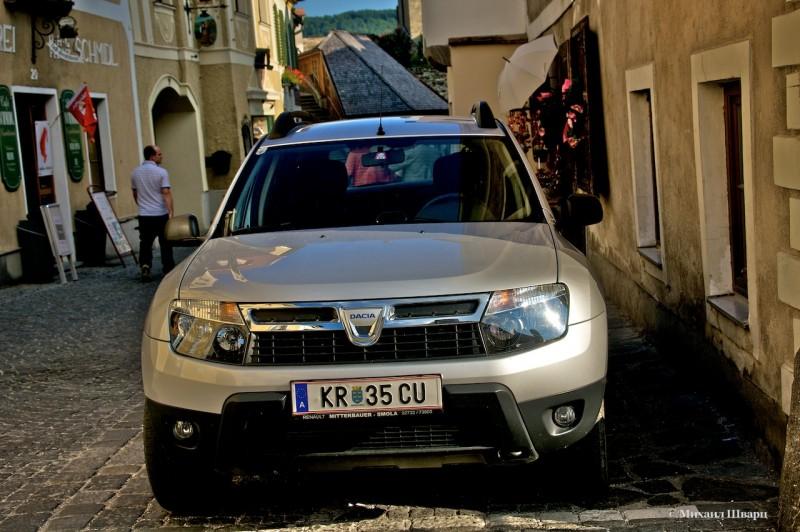 У нас Рено, а у них Dacia
