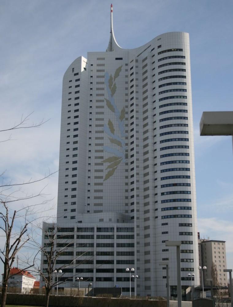 Высотное жилое здание «Новый Дунай» (Hochhaus Neue Donau)