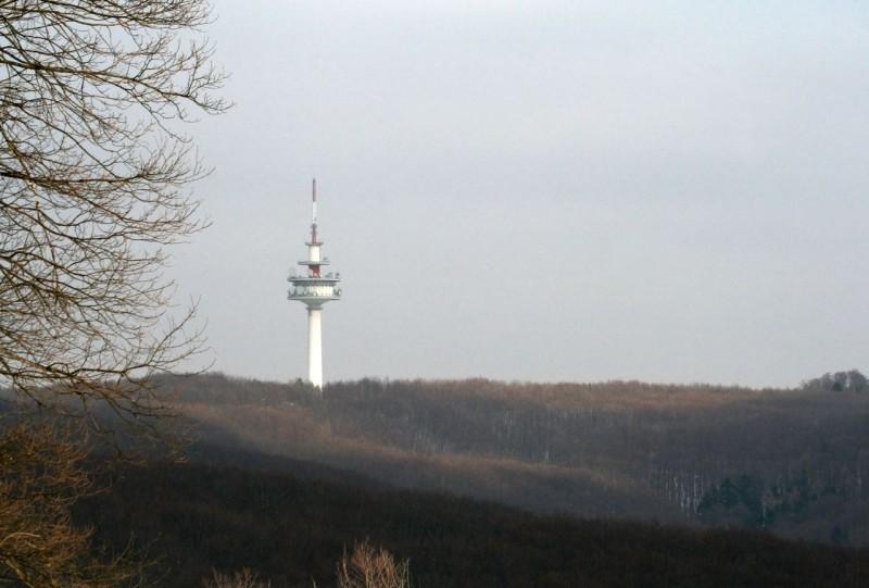 Радиобашня на горе Эксельберг (Richtfunkstation Exelberg)