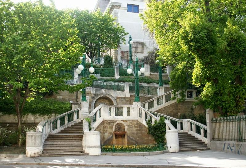Лестница Strudlhofstiege