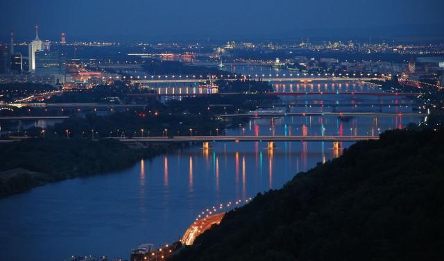 Вена - город мостов