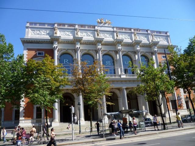 Старое здание Венской биржи