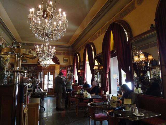 В венском кафе