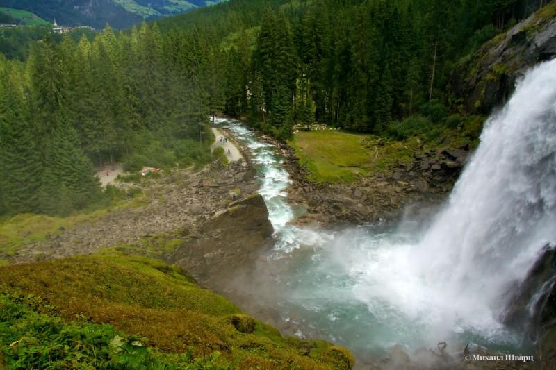 Хотите увидеть Криммльский водопад?
