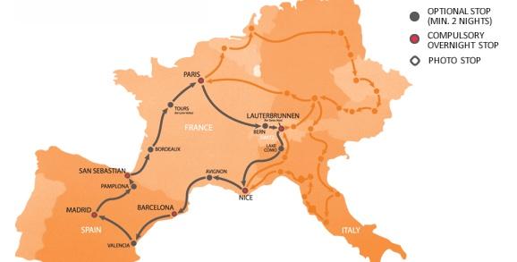 Западный маршрут (West Loop)