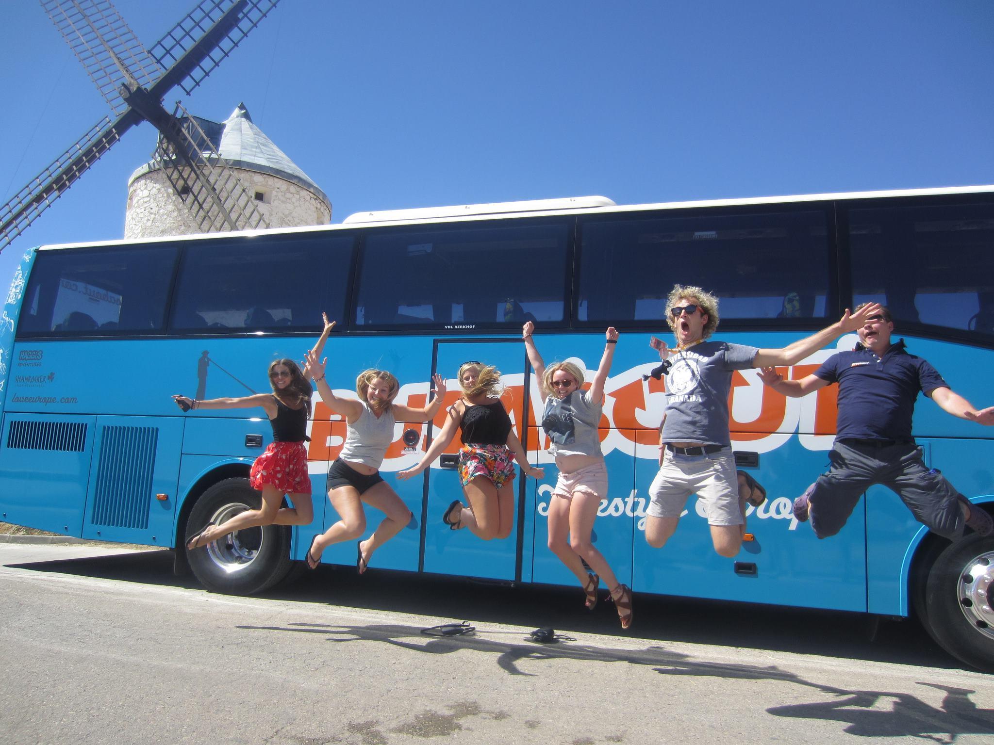 Проездной BusAbout Pass – 3 автобусных маршрута по Европе.