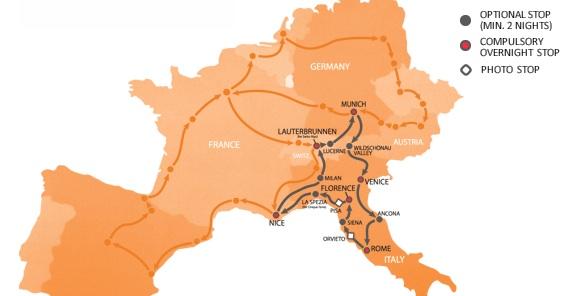 Южный маршрут