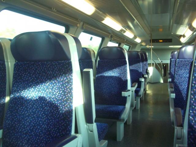 В поезде из Кремса в Вену