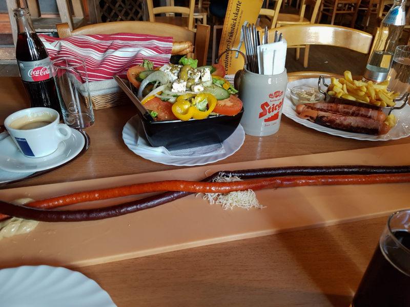 Двухметровая колбаса