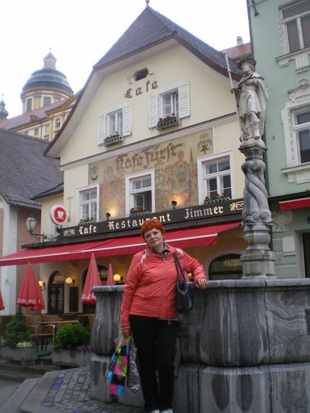 Мельк. Чисто австрийское кафе- ресторан